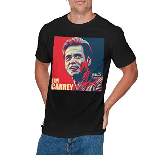 PeterjPan Mens Vintage Jim?Carrey Tee XL Black (Heiße Jim)