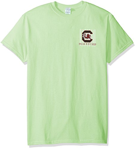 T-shirt Spirit Fighting (New World Graphics NCAA South Carolina Fighting Gamecocks Spirit Short Sleeve T-Shirt, X-Large, Mint)