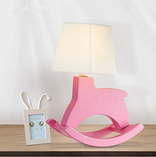 CLG-FLY Children's room decoration desk lamp infant bedroom bedside lamp button switch