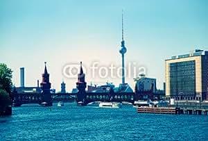 adrium Berlin Skyline oberbau mbru Esquina (81712824), Forex, 70 x 50 cm
