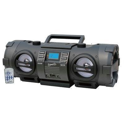 SuperSonic Wireless Bluetooth Boom Box, Black by Supersonic