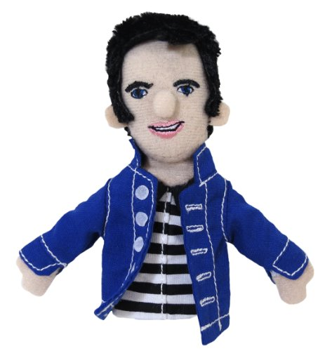 Finger Display Puppet - The Unemployed Philosophers Guild Elvis Presley Finger Puppet and Refrigerator Magnet - for Kids and Adults