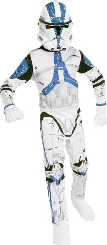 Star Wars Child's Clone Trooper Costume, Large -