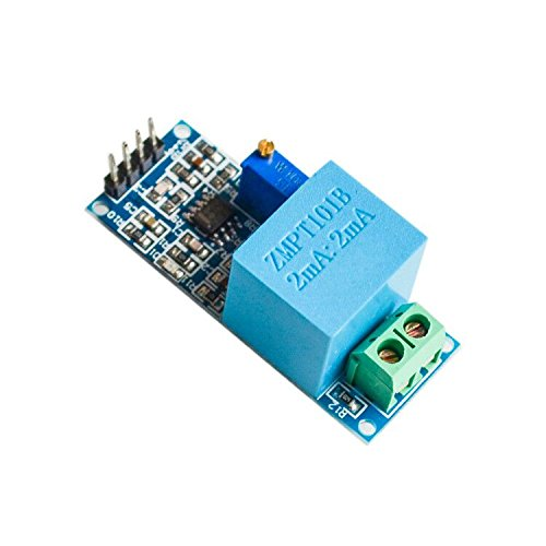 Batcus Active Single Phase Voltage Transformer Module AC Output Voltage Sensor for Arduino Mega ()