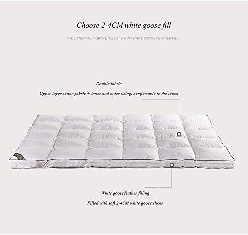 LINLIN Matelas en Duvet de Coton épaissi Long Tatami Pliant Extra Large Tapis de Sol Quatre Saisons Universel,120 * 200CM