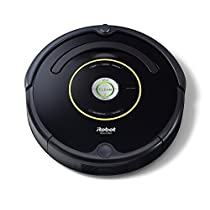 iRobot Roomba 650 Robot Aspirapolvere, Sistema di Pulizia ad Alte Prestazioni con Dirt Detect, Adatto a Pavimenti e Tappeti, Ottimo per i Peli Degli Animali Domestici, Programmabile, Nero