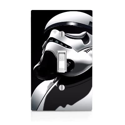 MWcustoms 'Stormtrooper' Profile Fan Art Light Switch Plate: Home & Kitchen