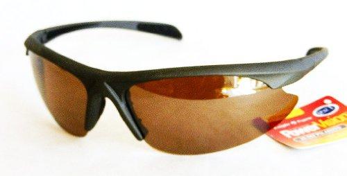 PowerVision Mens HI-DEF POLARIZED Sport Sunglasses (445) 100% UVA & UVB Protection-Shatter Resistant + FREE BONUS MICROSUEDE CLEANING - Sunglasses Hi Def