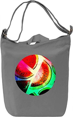 Colourful Watermelon Borsa Giornaliera Canvas Canvas Day Bag| 100% Premium Cotton Canvas| DTG Printing|