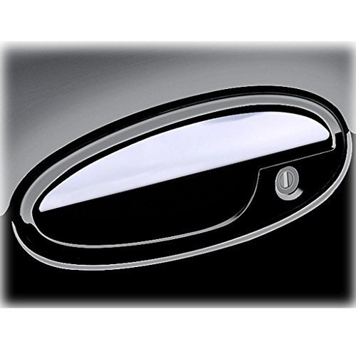 Ferreus Industries Polished Stainless Door Handle Cover Trim fits: 1999-2005 Pontiac Grand AM OTH-112-01