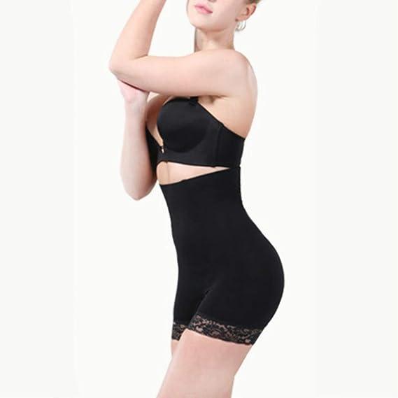 YYDISPLAY Ladies Seamless Waist Training Slimming Underwear High Waist Tummy Control Postpartum Body Shaping Boyshorts