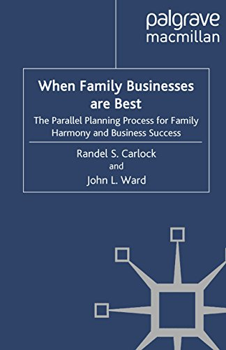 When Family Businesses are Best: The Parallel Planning Process for Family Harmony and Business Success (A Family Business Publication)