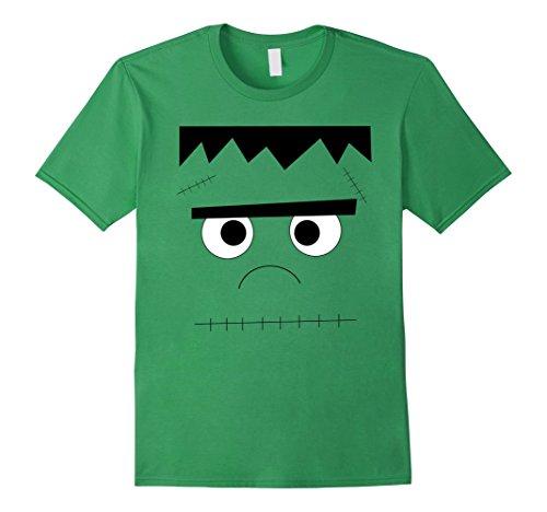 Frankenstein Girl Costume Ideas (Mens Frankenstein Halloween T-Shirt XL Grass)