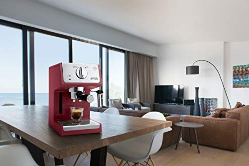 De'Longhi ECP3220R 15 Bar Espresso Machine with with Advanced Cappuccino System, Red by De'Longhi (Image #5)