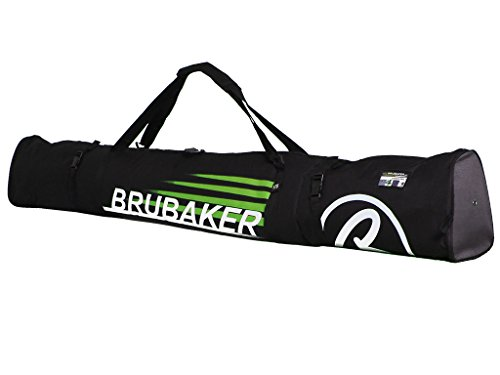 BRUBAKER Padded Ski Bag Skibag CARVER CHAMPION 170 cm / 66 7/8