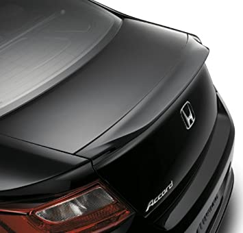 Honda Genuine Accessories 08F01-T3L-120 Crystal Black Pearl Front Underbody Spoiler for Select Accord Models