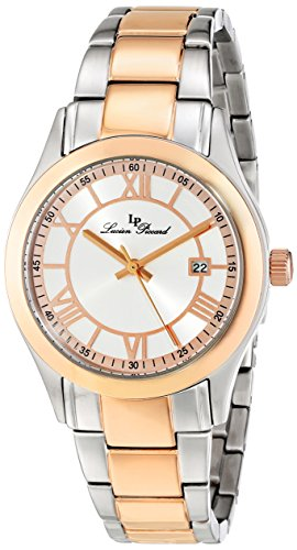 Lucien Piccard Women's LP-12763-SR-22S Vienna Analog Display Japanese Quartz Two Tone Watch