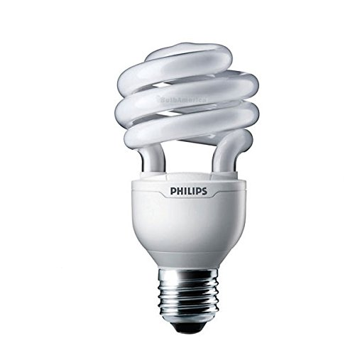 Philips 20w 120v Twist Dimmable 2700K Warm White E26 Fluorescent Light Bulb (Philips Cfl Dimmable)