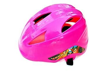 HOUHOUNNPO Durable Casco de Seguridad para niños Casco de Seguridad para niños (Rosa)