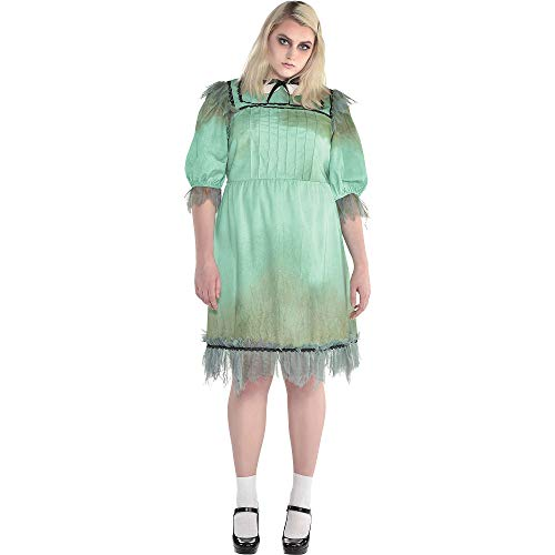 SUIT YOURSELF Womens Dreadful Darling Halloween Costume, Plus Size, Polyester -