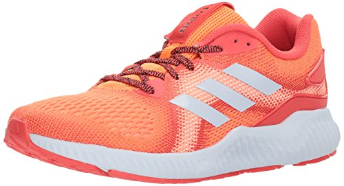 adidas Women's Aerobounce ST w Running Shoe, Hi-Res Orange/Real Coral/Aero Blue, 9 M US ()