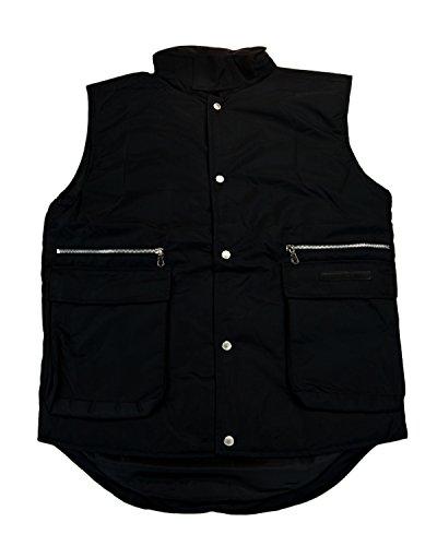 Gianfranco Clothing Ferre Mens (GianFranco Ferre GFF 014 Nero Black Sleeveless Jacket)