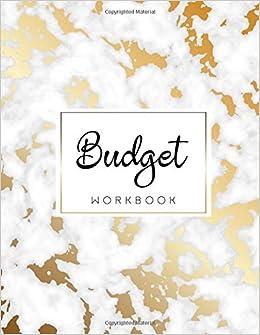budget workbook 12 month budget planner book financial planning