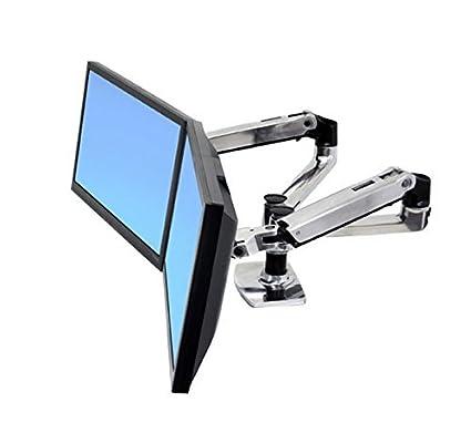 Merveilleux Amazon.com: ERG45245026   Ergotron Inc LX Dual Side By Side Arm For WorkFit D  Sit Stand Desk: Computers U0026 Accessories