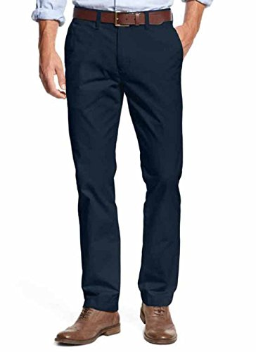 Chino Tailored - Tommy Hilfiger Mens Tailored Fit Chino Pants (34X34, Masters Navy)