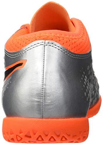 puma Jr 4 It Niños 01 Puma Black Zapatillas Fútbol shocking Silver Unisex De Plateado puma Orange Para One Syn xH7qIF