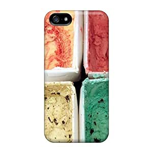 Iphone 5/5s Four Flavors Print High Quality Tpu Gel Frame Case Cover