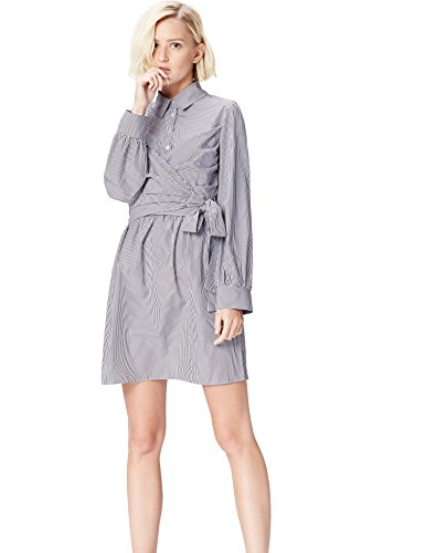 Donna A Blu Find Vestito Portafoglio Stripe blue gT7qv