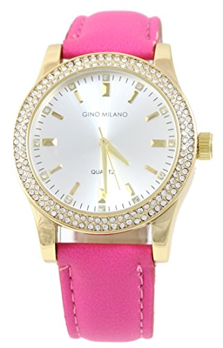 Women's Matching Watch & Wallet Gift Set - Pink by Gino Milano (Image #2)