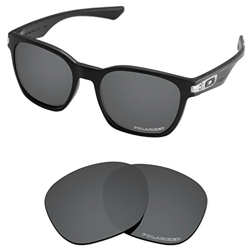 (Tintart Performance Lenses Compatible with Oakley Garage Rock Polycarbonate Polarized Etched-Carbon Black )