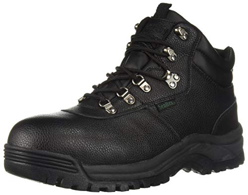 (Propet Men's Shield Walker Construction Boot, Black, 13 E US)