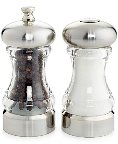Martha Stewart Collection Acrylic 2-Pc. Salt Shaker & Pepper Mill Set