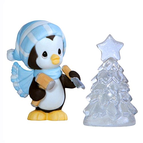 Precious Moments May Your Season Be Bright Figurine (Soap Christmas Carving Tree)