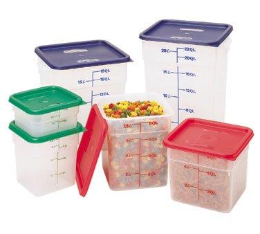 Cambro 12SFSPP190 Square Storage Container 12 Qt