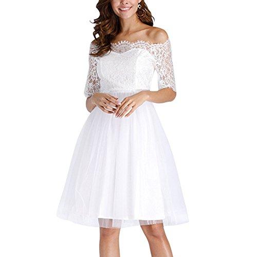 80s off the shoulder mini dress - 2