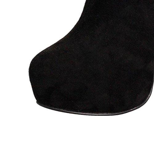 invierno 41 impermeable de para A salones artificial otoño alto banquetes de botas de B Lady tacón botas Zapatos de Mostrar Ante trabajo 42 Botas Botas 0709FD 4YZTEqn
