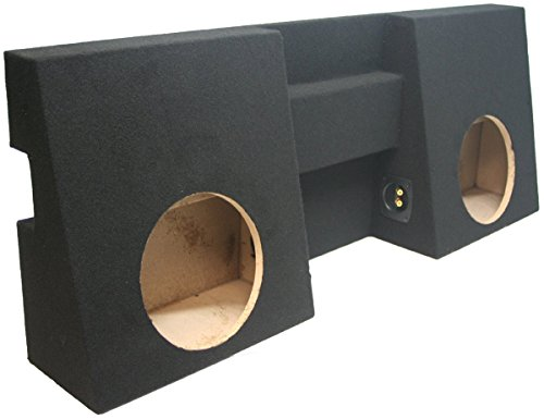 ASC Toyota Tacoma Double Cab Truck 2005-2014 Dual 10 Subwoofer Custom Fit Sub Box Speaker Enclosure