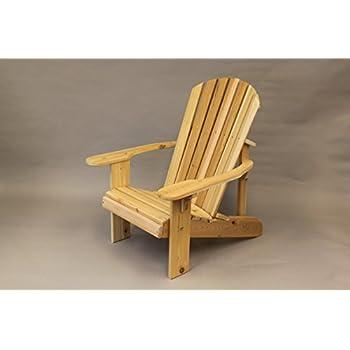 Amazon Com Standard Adirondack Chair 20 Quot Seat Width