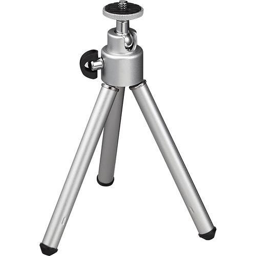 """Insignia™ - 5.5"""" Mini Tripod - Silver"""