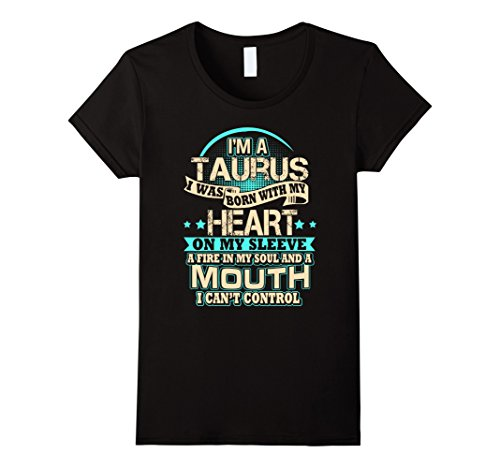 womens-a-fire-in-taurus-soul-funny-birthday-horoscope-t-shirts-medium-black