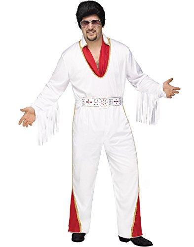 Fun World Vegas Rocker Evlis Adult Male Halloween