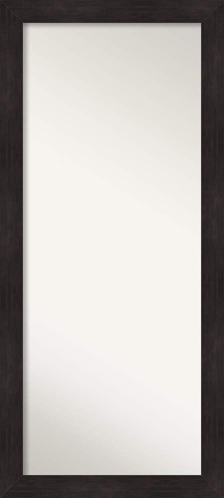 Amanti Art Full Length Mirror | Furniture Espresso Mirror Full Length | Full Body Mirror | Floor Length Mirror 29.62 x 65.62 in.