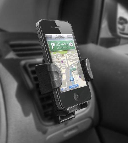 Kit - Soporte universal para rejillas de ventilación de coche para teléfonos móviles, color negro [Importado del Reino Unido]: Amazon.es: Electrónica