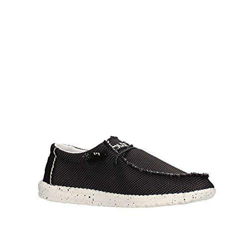 Dude Shoes Men's Wally Sox Mesh Onyx Black