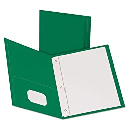 ESS57756 - Oxford Twin-Pocket Folders with 3 Fasteners