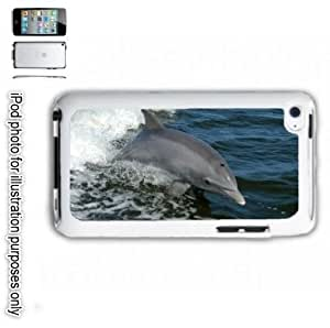 Bottlenose Dolphin Ocean Photo iPOD 4 Touch Hard Case Cover Shell White 4th Generation White